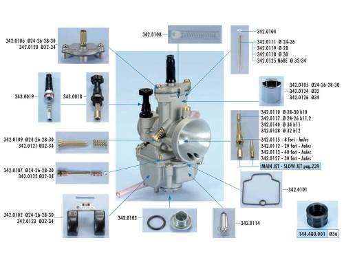small resolution of carburetor parts polini for keihin pwk stage6 naraku koso oko flat slide carbs