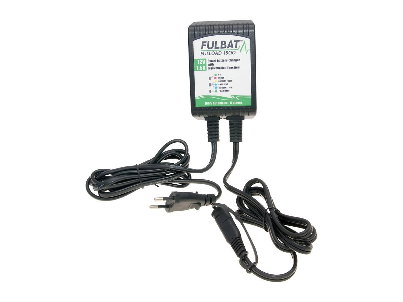 Battery Charger Fulbat Fulload Fl For 12v Lead Based Mf Gel 4 120ah