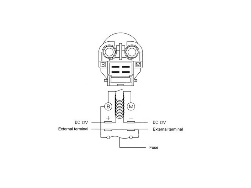 1986 Goldwing Starter Relay Wiring Diagram : 42 Wiring