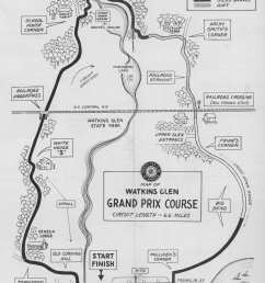 the original 6 6 mile watkins glen circuit utilized the main road through town franklin street as the front straight the rest of the layout wound its way  [ 1916 x 2628 Pixel ]