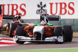 Formula One World Championship, Rd 3, Chinese Grand Prix, Race, Shanghai, China, Sunday 17 April 2011.