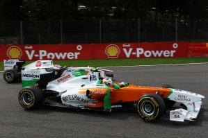 Formula One World Championship, Rd 12, Belgian Grand Prix, Race, Spa-Francorchamps, Belgium, Sunday 28 August 2011.