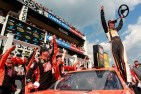 2012_Pocono_June_Sprint_Cup_Joey_Logano_Celebrates_In_Victory_Lane