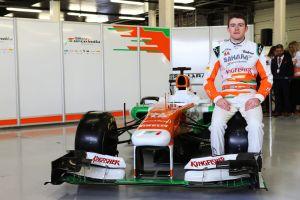 Motor Racing - Formula One World Championship - Force India F1 VJM06 Launch - Silverstone, England