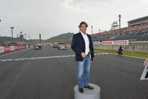 Super Formula Motegi 2013 Stefan Johansson Grid