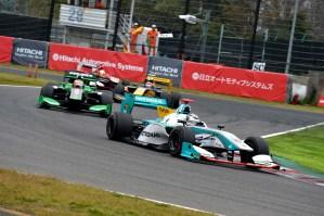 Super Formula Suzuka 2014 Andre Lotterer 2