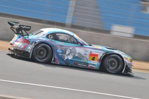 Super GT Goodsmile Hatsunemiku BMW Z4 Okayama Test 2014