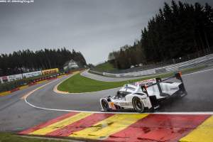 Car #18 / PORSCHE TEAM (DEU) / Porsche 919 Hybrid Hybrid / Romain Dumas (FRA) / Neel Jani (CHE) / Marc Lieb (DEU) - FIA WEC 6 hours of Spa-Francorchamps at Stavelot - Route du Circuit - Belgium