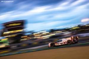 Car #8 / AUDI SPORT TEAM JOEST (DEU) / AUDI R18 E-TRON QUATTRO Hybrid / Lucas DI GRASSI (BRA) / Loic DUVAL (FRA) / Oliver JARVIS (GBR) - Le Mans 24 Hours at Circuit Des 24 Heures - Le Mans - France