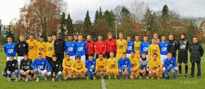 Coupe Gambardella: Racing contre Epinal