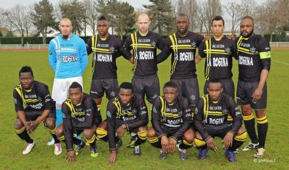 L'équipe de l'UJA Maccabi Paris opposée au Racing