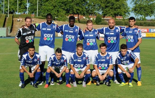 Debout: Oukidja, Kante, Solvet, Munch, Sikimic, Saad Accroupis: Belahmeur, Marquès, Weissbeck, North, Ieraci