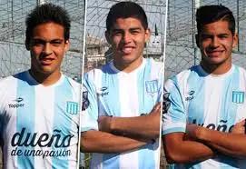 LaLautaro Martínez, Valenzuela y Mansilla. El del medio se quedó en el camino.