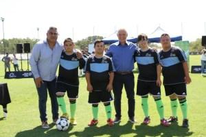 Fútbol Inclusivo, con Blanco y Tapia.