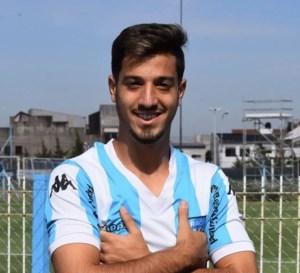 Fabrizio Domínguez, jugador de la Cuarta División de Racing.