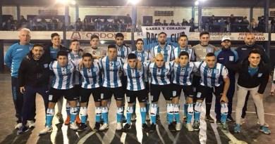 Racing también es líder en Futsal