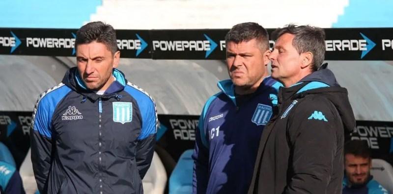 Mauro Gerk se separó de Cocca antes de que el DT asumiera como entrenador de Rosario Central. El Tanque regresa a Racing.