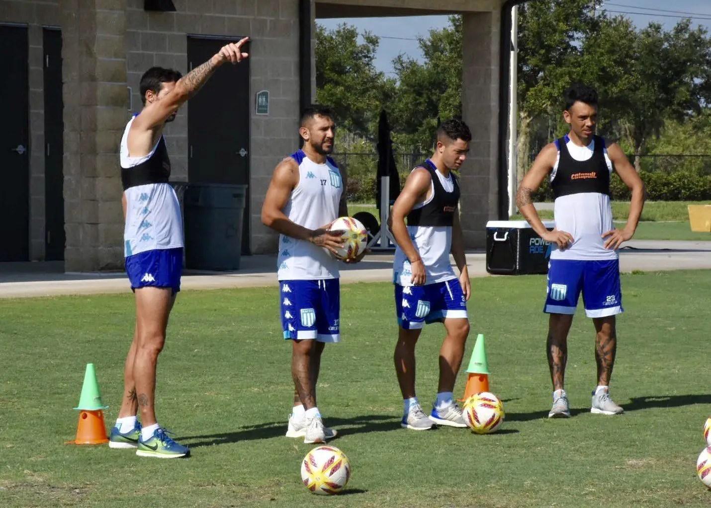 Gabriel Arias ya se entrena con Racing en la pretemporada - Deportivo