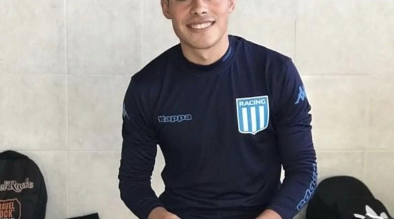 Tucu Rojas, volante juvenil de Racing.