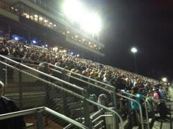 Fireworks at Irwindale fan appreciation night