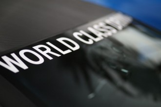 World Class Driving Decal