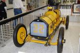 The winner of the first Indy 500 in 1911 was the Marmon Wasp, which is credited with having the first rearview mirror.