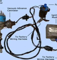 ford electronic ignition wiring wiring diagram mega converting from points to electronic ignition racingjunk news ford [ 1200 x 800 Pixel ]