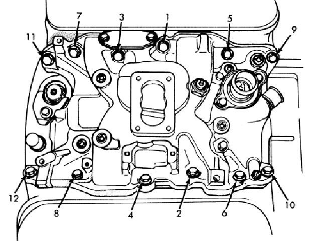 Aluminium Intake Manifold Diagram