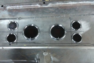Steel-Panel-Dash-Taking-Shape