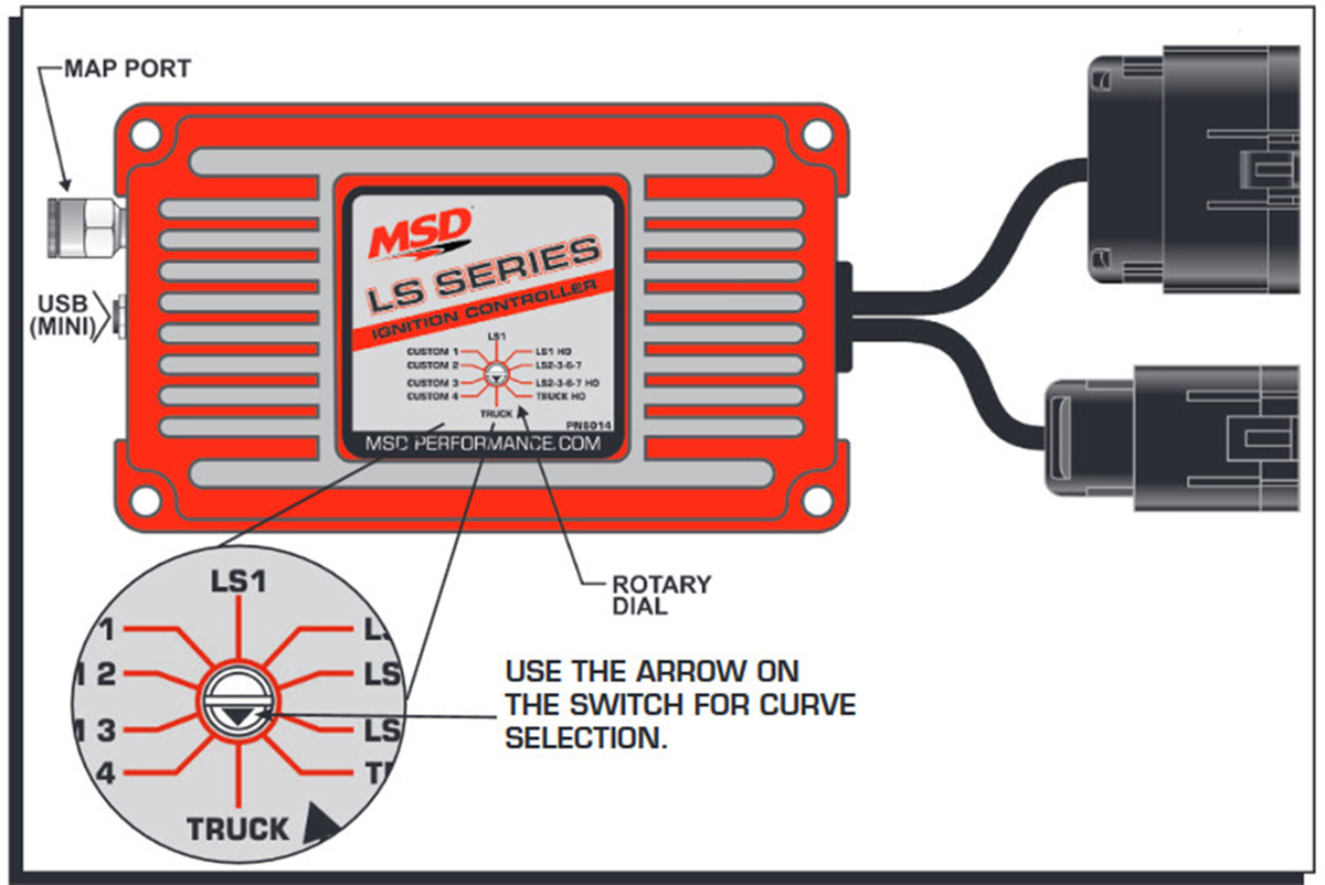 hight resolution of msd performance introduces msd ignition boxes designed for ls engines racingjunk news msd 6a ignition wiring racing