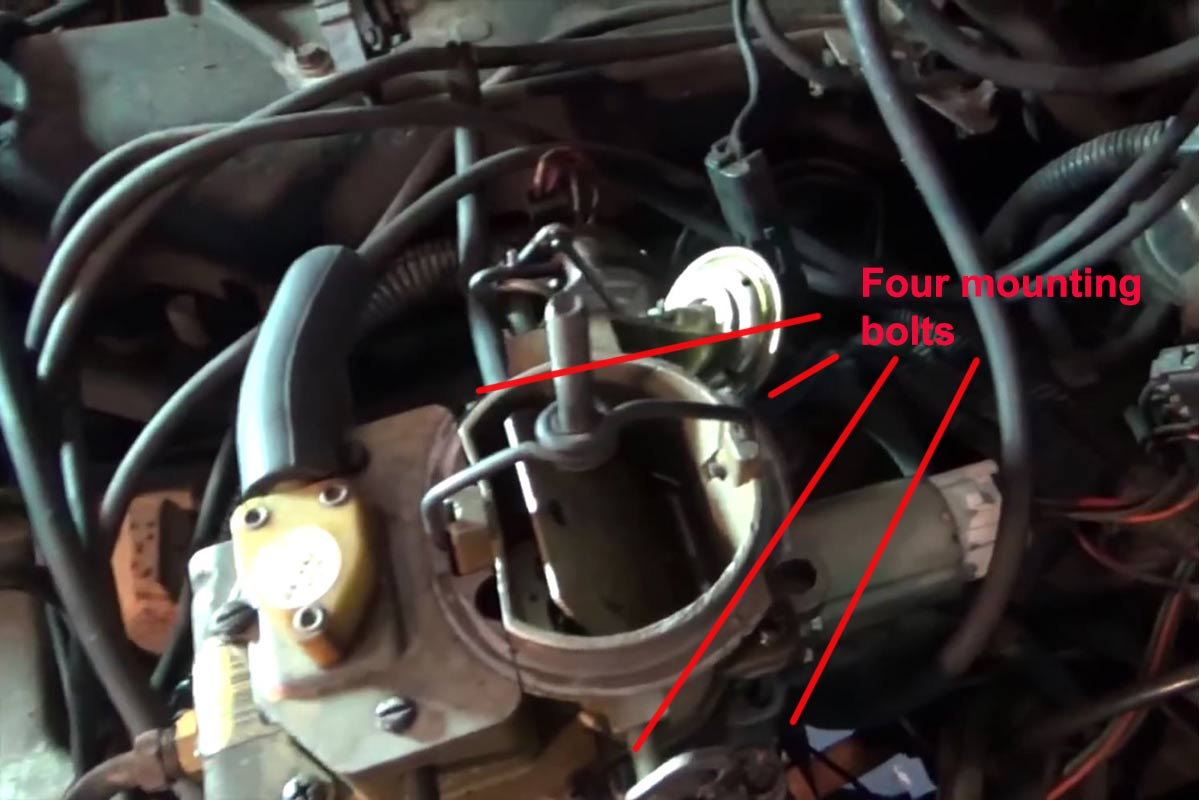 hight resolution of holley sniper efi for jeep cjs with the bbd carburetor