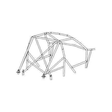 Estructura de Múltiples Puntos Arco OMP Citroën Saxo 3
