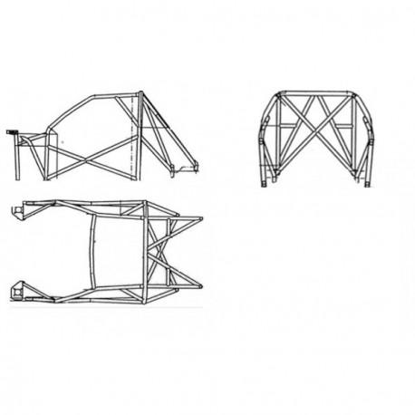Estructura de Múltiples Puntos Sparco Peugeot 106 Maxi