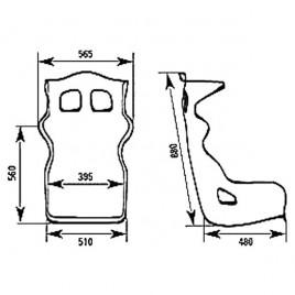 Asiento Baquet FIA OMP RS-PT 2
