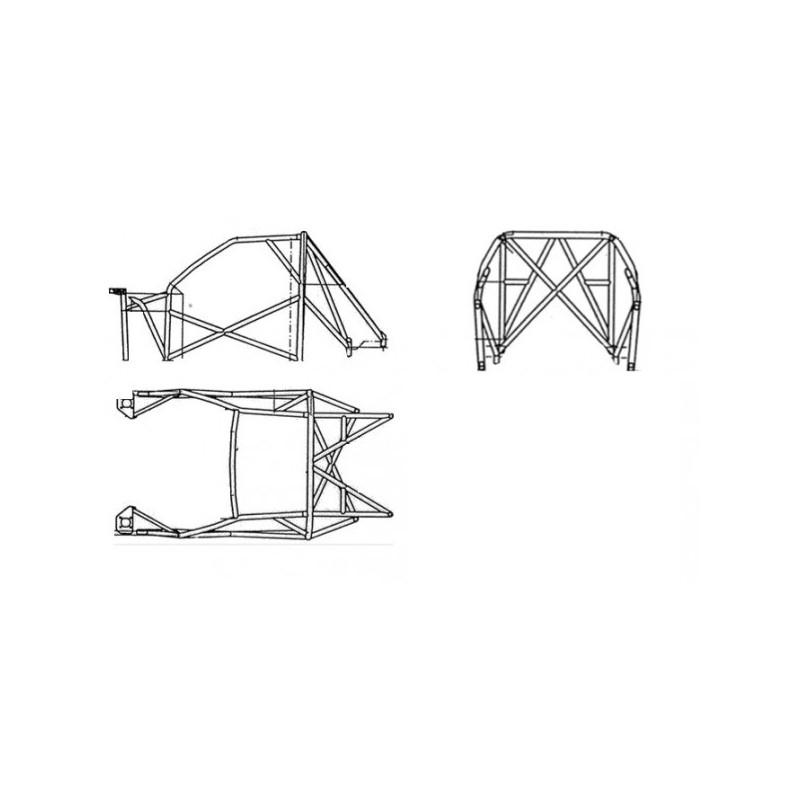 Structure Multipoints Sparco Peugeot 106 Maxi