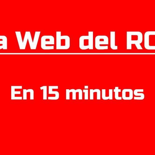 La Web del ROC en 15 minutos