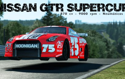 TEST Nissan GTR SuperCup 2.0