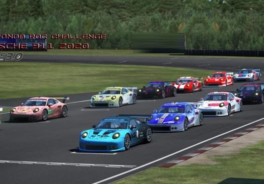 Guangdong (09/10) – Ronda XIX ROC Challenge Porsche 2020