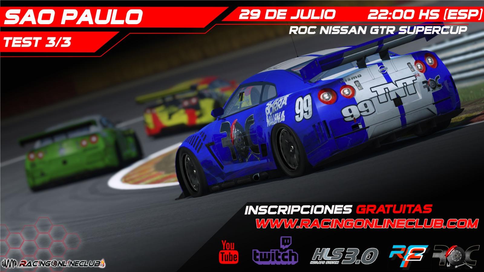 Nissan GTR SuperCup - Sao Paulo