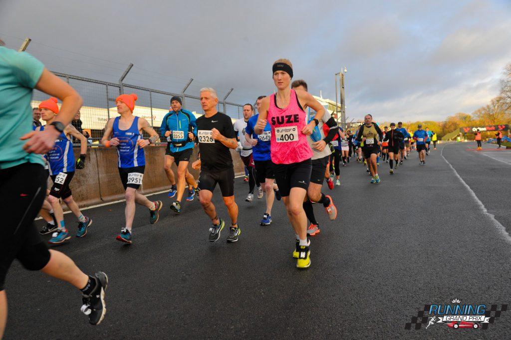 Oulton Marathon start_10 laps of the track_3hours39mins_2.12.18