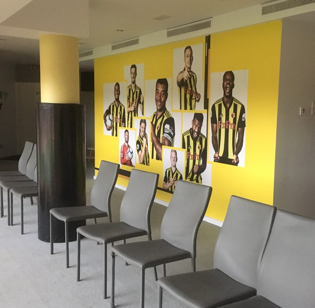 Watford FC Sensory room