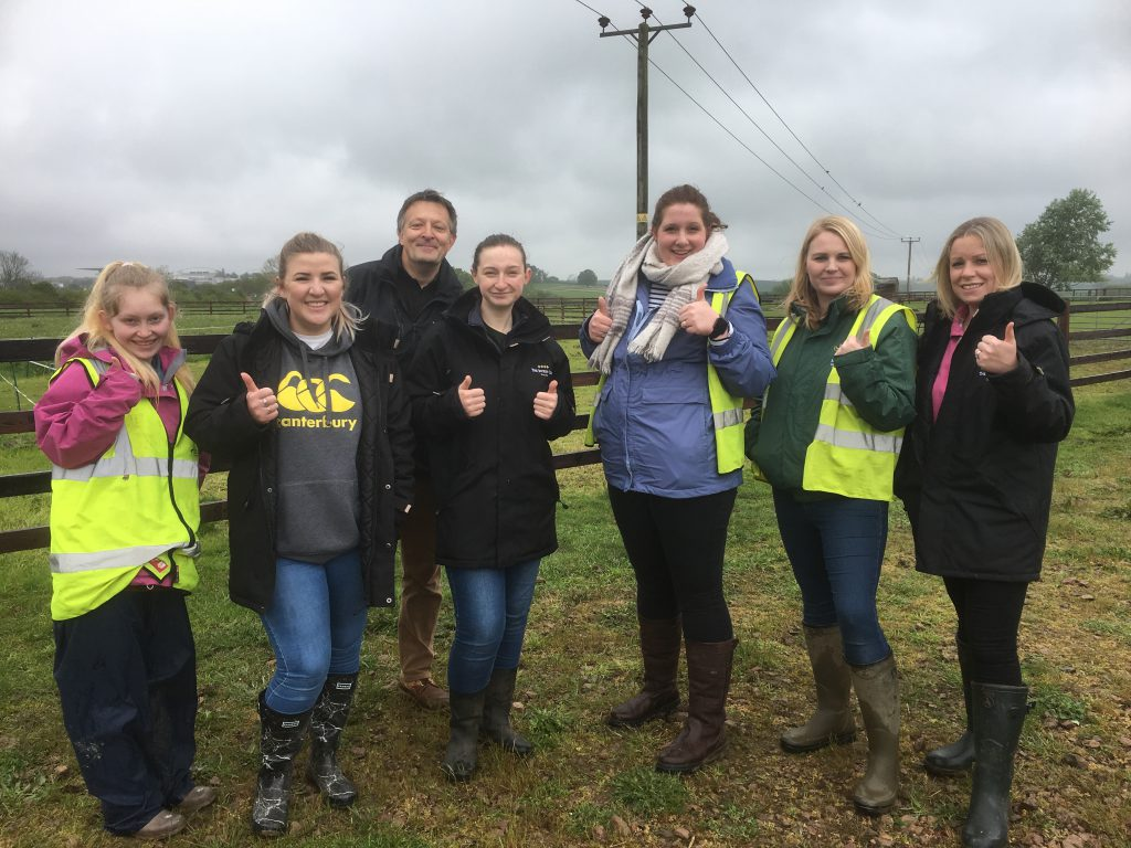Cheltenham Racecourse volunteers