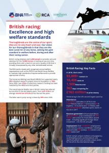British Racing Factsheet