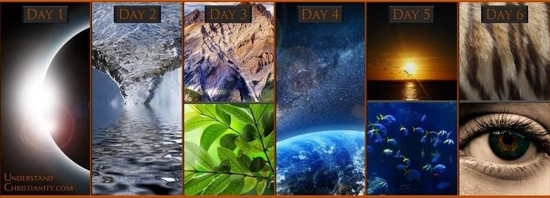 Resultado de imagem para Os dias da Criação foram Simbólicos ou Literais?