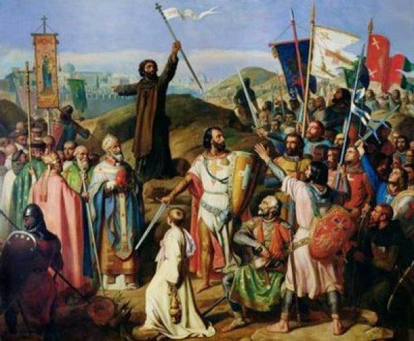 Cruzados na Palestina, 1099, Chateau de Versailles, França