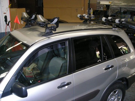 Canoe Roof Carrier & How To Place A Kayak Or Canoe On A