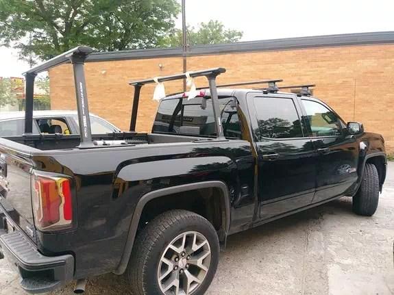 gmc sierra 1500 ext cab rack