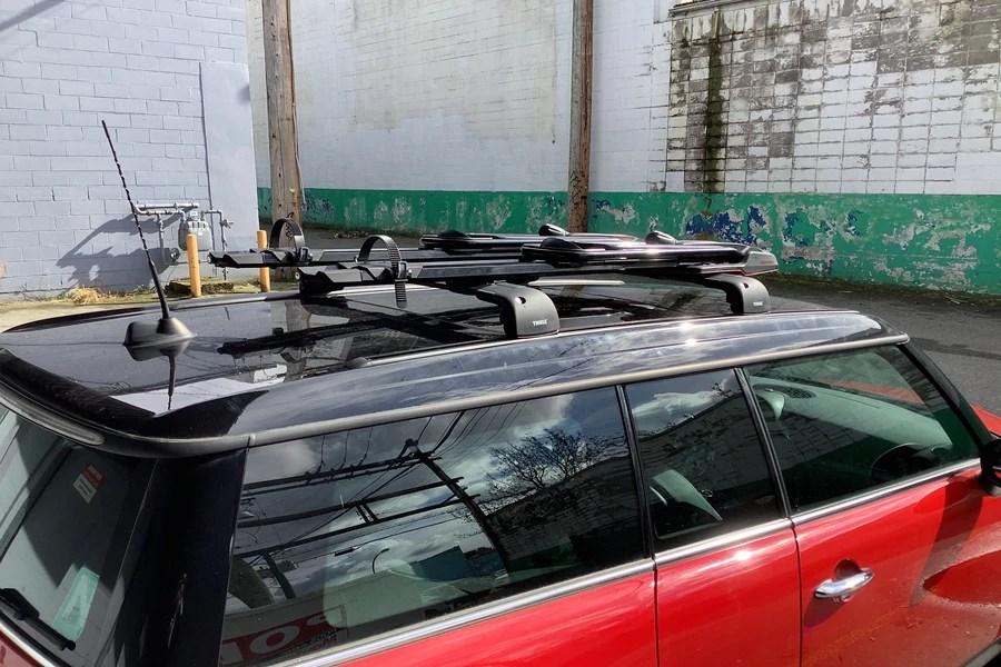 mini clubman 4dr rack installation photos