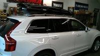 Volvo XC90 Rack Installation Photos