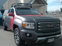 GMC Canyon Ext. Cab 4DR Rack Installation Photos